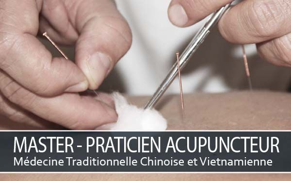 Formation Master Praticien Acupuncteur - MTC
